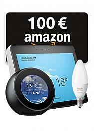 Amazon Home Kombipaket inklusive 100 EUR Amazon-Gutschein