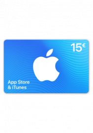 Apple App Store & iTunes Gutschein 15 Euro