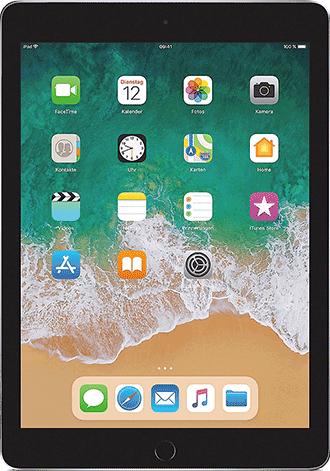 apple ipad 9 7 2018 wifi cellular mit vertrag g nstig. Black Bedroom Furniture Sets. Home Design Ideas