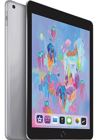 Apple iPad 9.7 (2018) WiFi + Cellular 32GB Space Grau