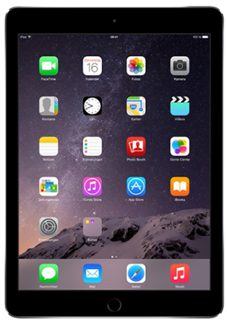 Apple iPad Air 2 WiFi 128GB Space Grau