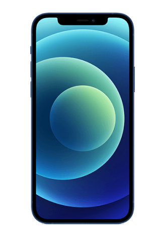 Apple iPhone 12 mini 5G 128 GB Blau