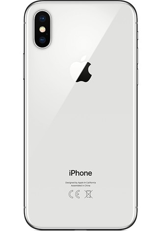 Apple iPhone X (Vodafone) 64GB LTE Silber