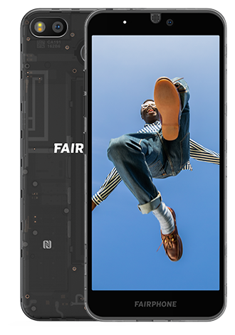 Fairphone 3 64GB LTE Dark Translucent