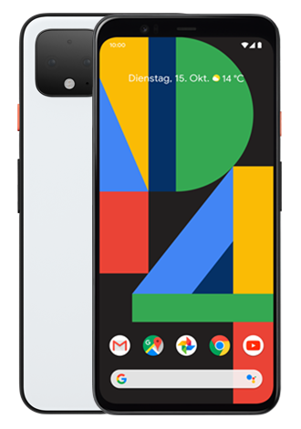 Google Pixel 4 64GB LTE Clearly White