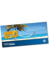 HolidayCheck 100 Euro Gutschein