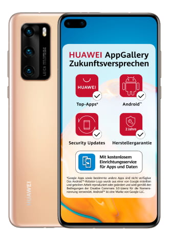 Huawei P40 5G 128GB Blush Gold