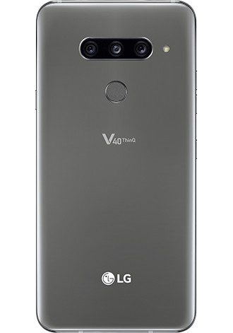 LG V40 ThinQ 128GB LTE New Platinum Gray