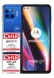 Motorola Moto G 5G Plus 64 GB Surfing Blue