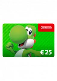 Nintendo 25 Euro eShop Gutschein