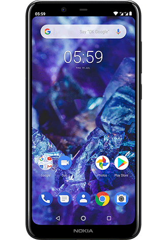 Nokia 5.1 Plus Dual SIM 32GB LTE black