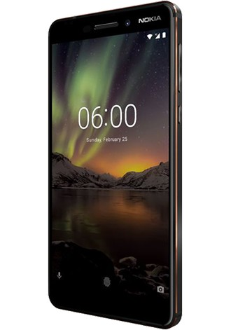 Nokia 6.1 Dual SIM 32 GB LTE black Copper