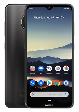 Nokia 7.2 64GB LTE Black