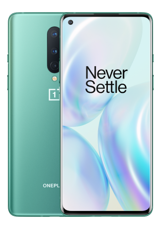 OnePlus 8 256 GB 5G Glacial Green