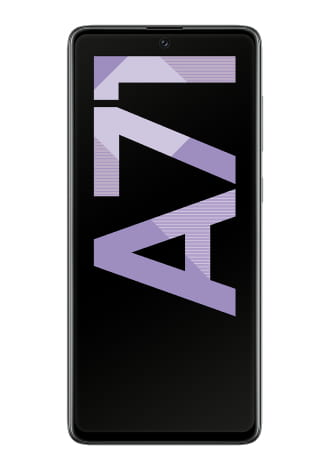Samsung Galaxy A71 128GB LTE Prism Crush Black