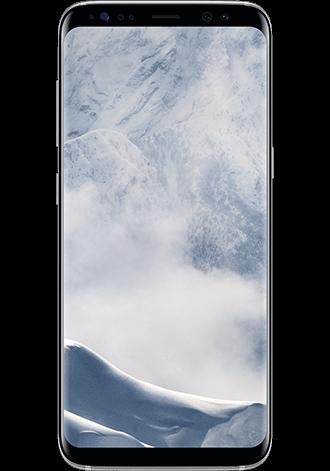 Samsung Galaxy S8 64gb Lte Arctic Silver Mit O2 Free M Connect