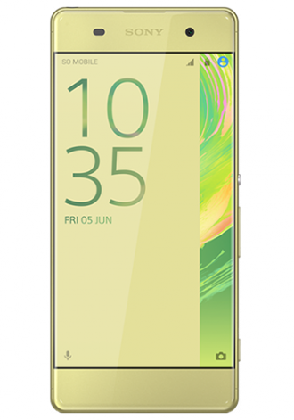 Sony Xperia XA 16GB LTE Lime Gold
