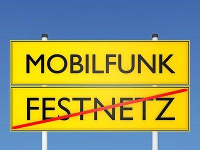 Bedeutet der Mobilfunknetz-Ausbau das Ende des Festnetzes?