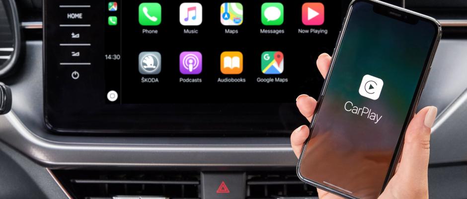 Apple CarPlay gewährt Zugriff auf mehr Funktionen Deines iPhones.