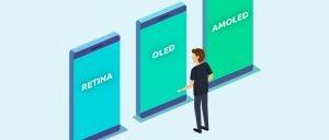 AMOLED und Retina: Display-Technologien und ihre Unterschiede