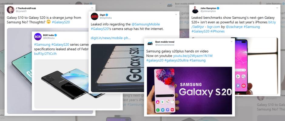 Samsung Galaxy S20: Viele Specs sind bereits enthüllt.
