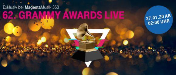 Telekom zeigt Grammy Awards im Livestream.