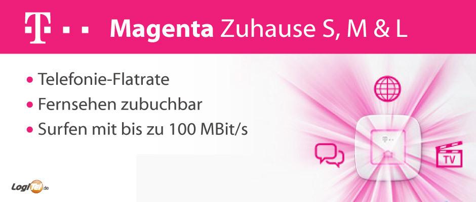 Telekom Magenta Zuhause Tarifübersicht