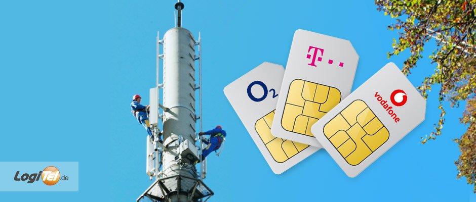 Telekom Lte Netzabdeckung Karte.Netzabdeckung In Deutschland Der Große überblick