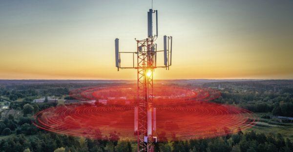 Auf der Frequenz von 700 MHz deckt 5G eine deutlich größere Fläche ab. ©Vodafone