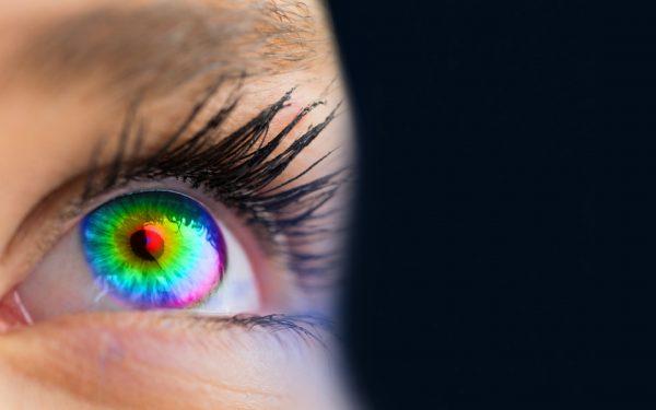 Über zwei Millionen Farbtöne nimmt das menschliche Auge wahr.