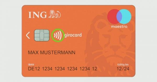 Das Wellensymbol verrät Dir, ob Deine Karte oder das Kassenterminal die NFC-Technologie beherrscht.