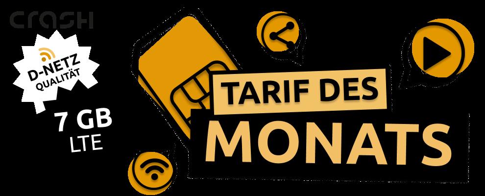 Tarif des Monats