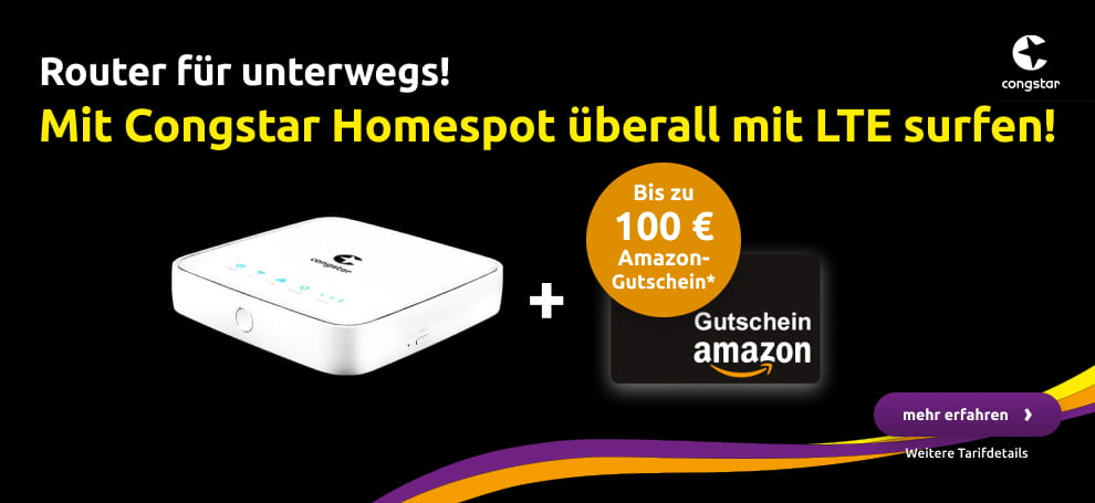 Congstar Homespot